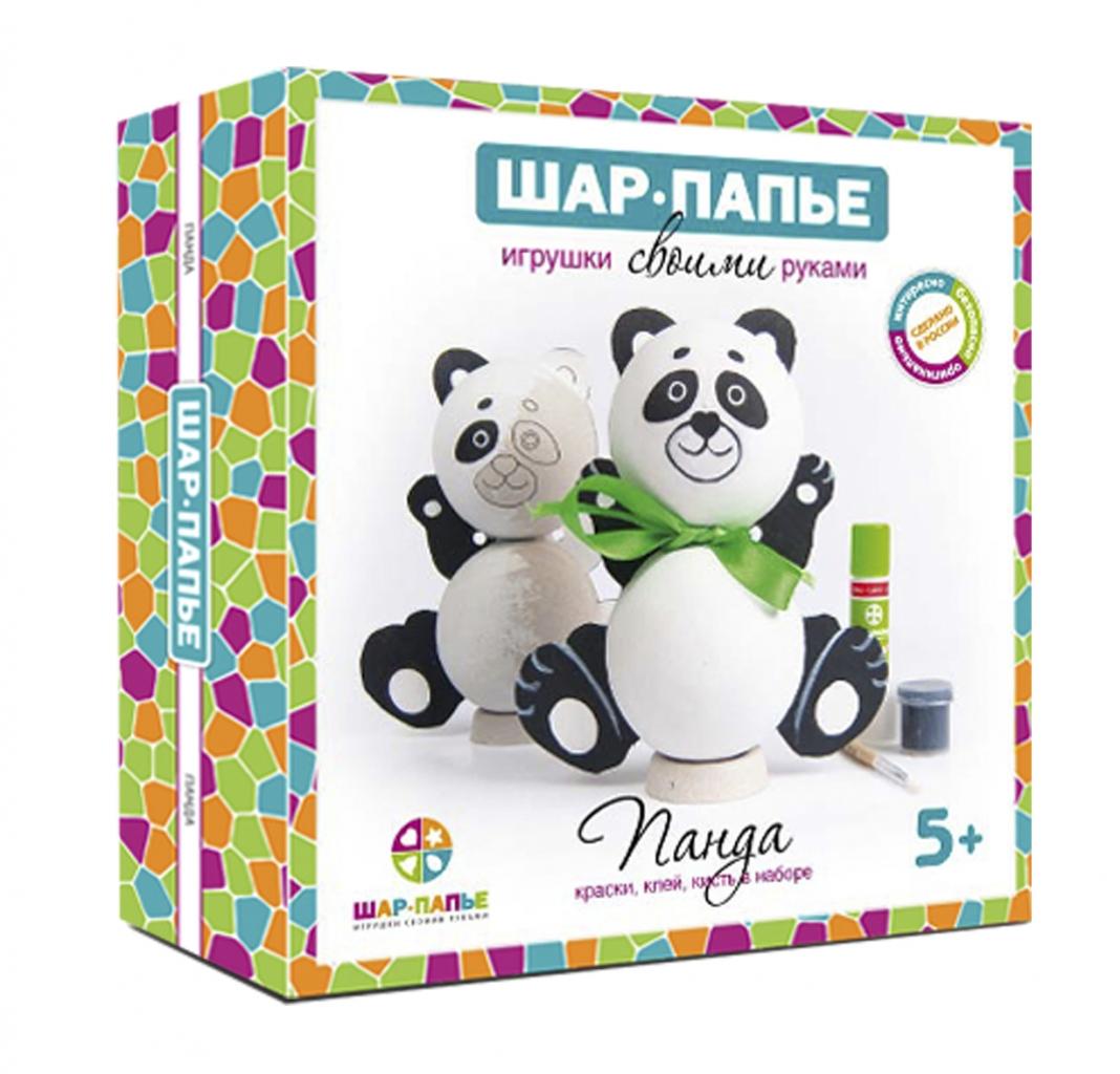 Набор для творчества ШАР-ПАПЬЕ В01761 Панда