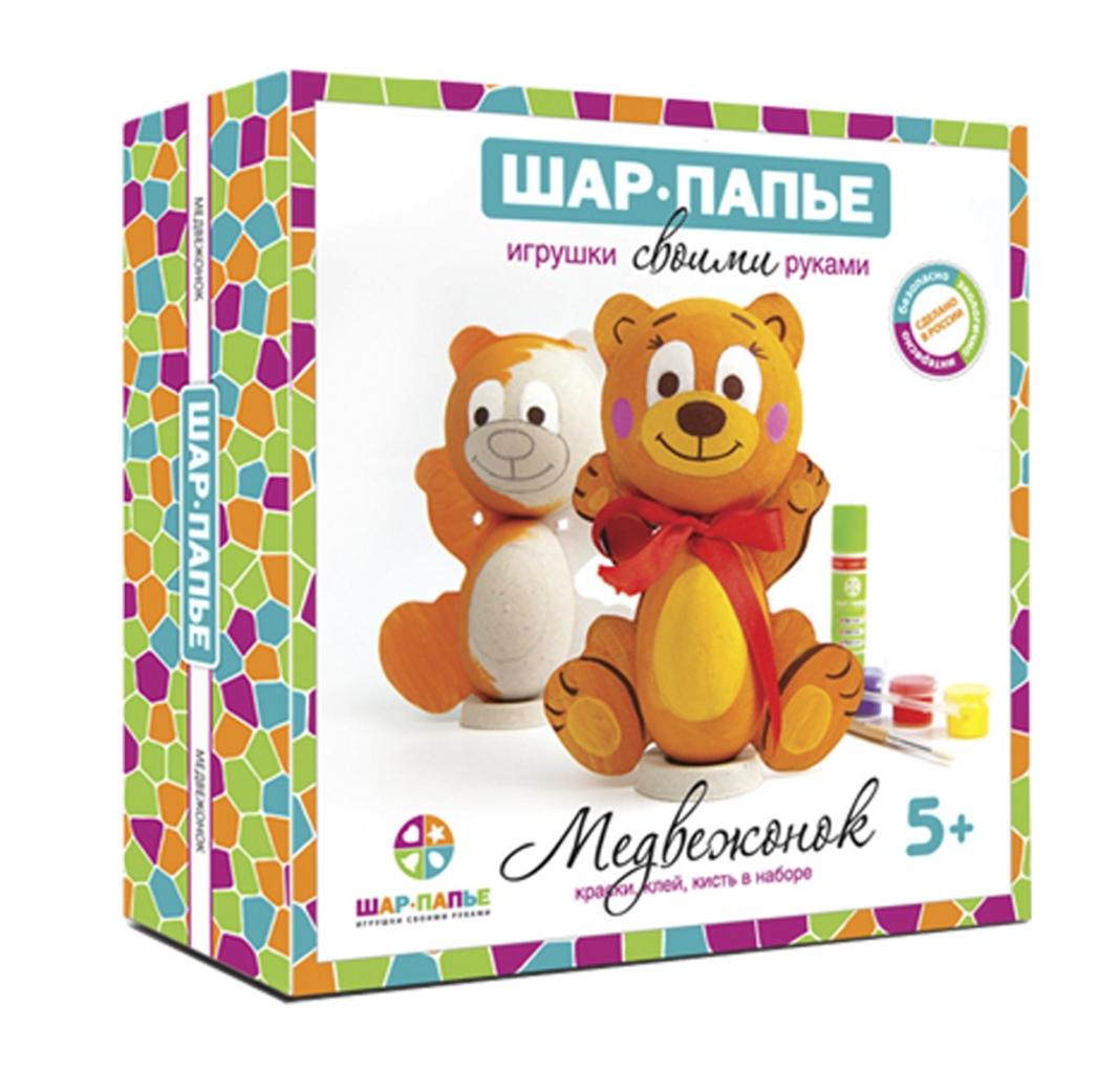 Набор для творчества ШАР-ПАПЬЕ В01671 Медвежонок