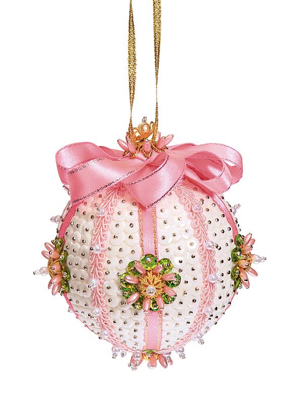 Набор для творчества ВОЛШЕБНАЯ МАСТЕРСКАЯ ШП-06 Шар Нежность розовый