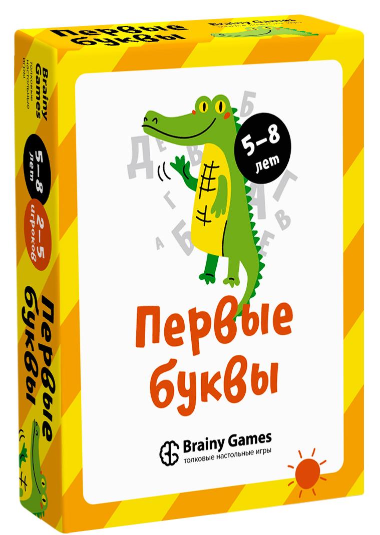 Настольная игра BRAINY GAMES УМ521 Первые буквы