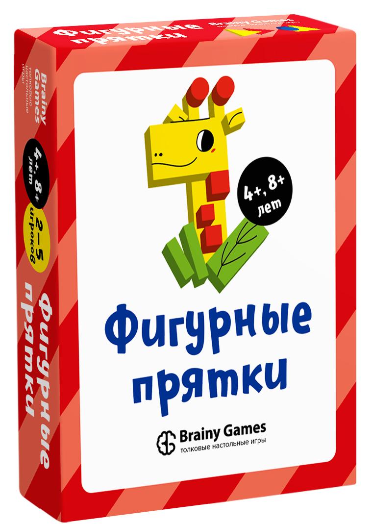 Настольная игра BRAINY GAMES УМ522 Фигурные прятки
