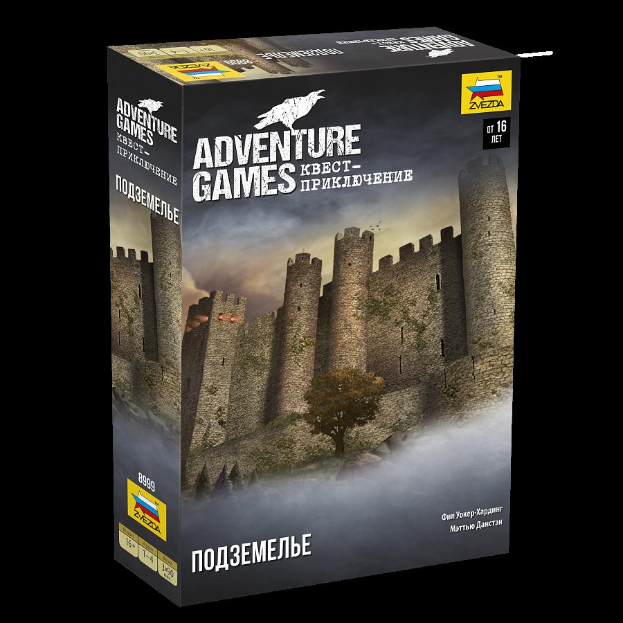 Настольная игра ZVEZDA 8999 Adventure Games. Подземелье