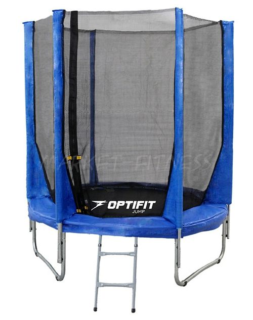 Батут OPTIFIT JUMP 6ft (1.83 м) синий
