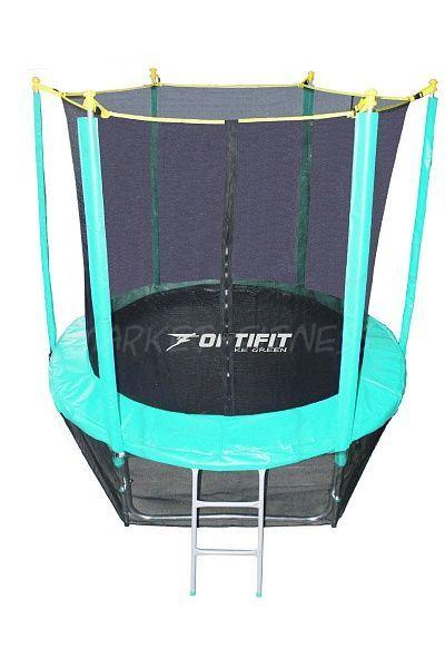 Батут OPTIFIT LIKE GREEN 8FT (2.44 м)