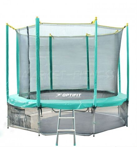 Батут OPTIFIT LIKE GREEN 16FT (4.88 м)