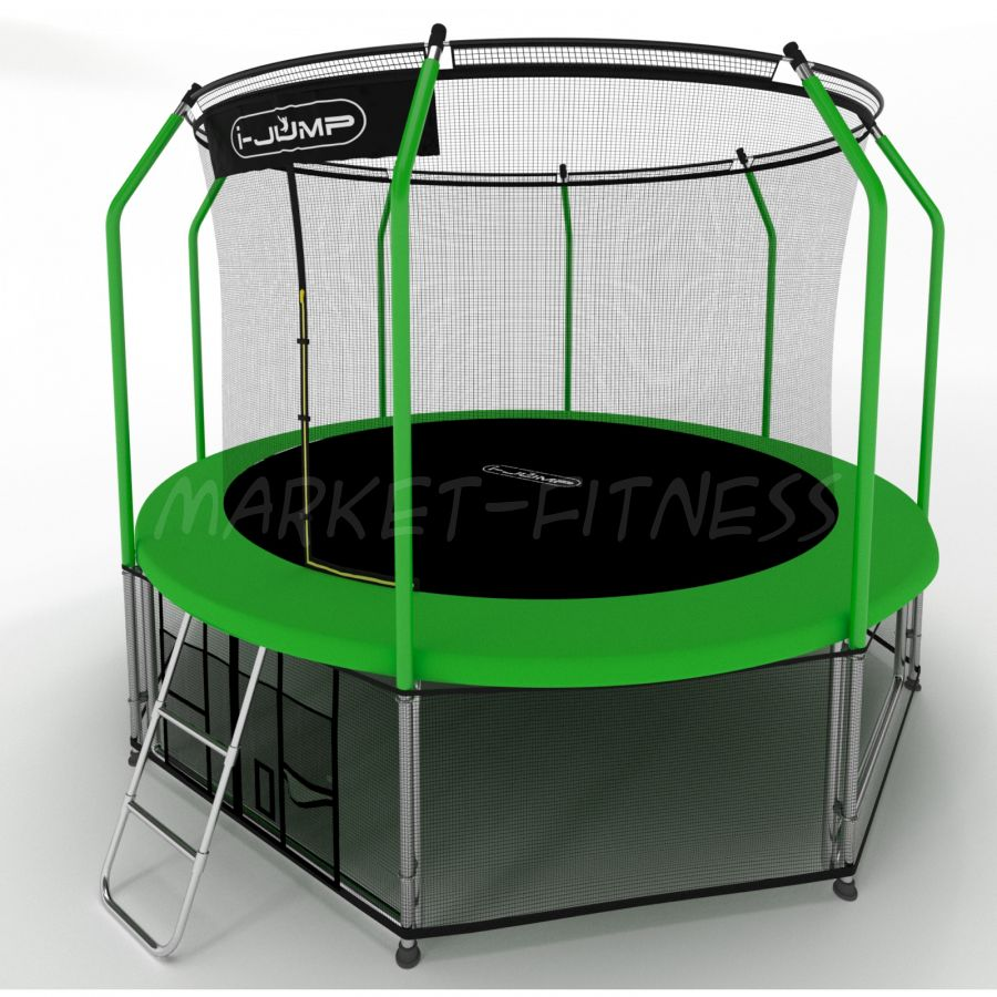 Батут i-Jump Elegant 16ft green (4,88 м)