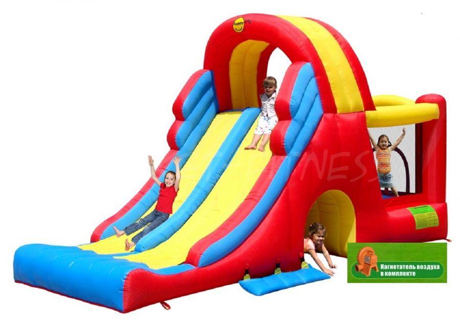 Батут Happy Hop Мега Горка для детей