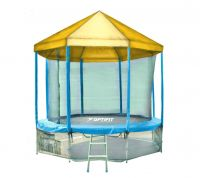 Батут OPTIFIT LIKE BLUE 12 FT (3.66 м) с желтой крышей
