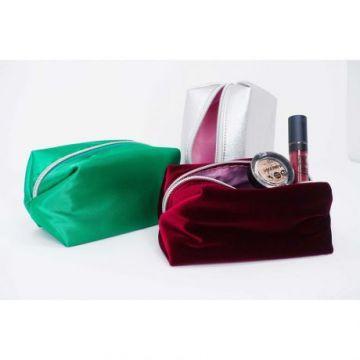 PuroBio - Сумочка для косметики / зеленая