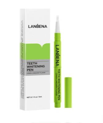 Гель-карандаш (лимон,лайм,мята) для обеливания зубов Lanbena.(5460)