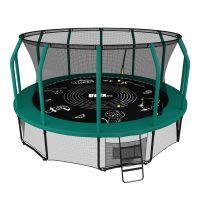Батут UNIX SUPREME GAME 12 ft (3.66 м) green