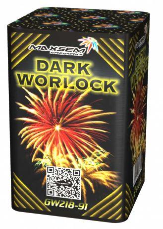 """Батарея салютов """"DARK WORLOCK"""" 9 залпов"""