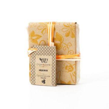 ОрганикЗон - Мыло Медовое (с  молоком, медом и ванилью)