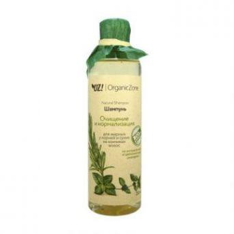 ОрганикЗон - Шампунь Очищение и нормализация для жирных у корней у сухих на кончиках волос