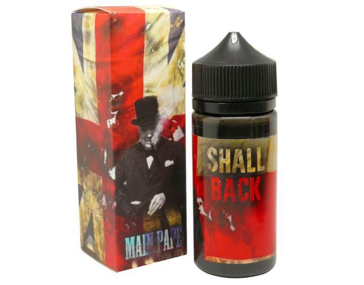 Жидкость  Main Pape, 100 мл, Shall Back, 0 мг/мл