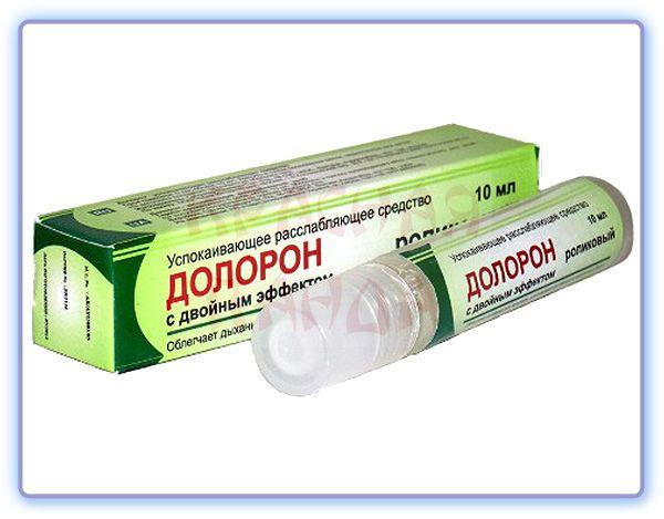 Успокаивающее расслабляющее средство Долорон Роликовый