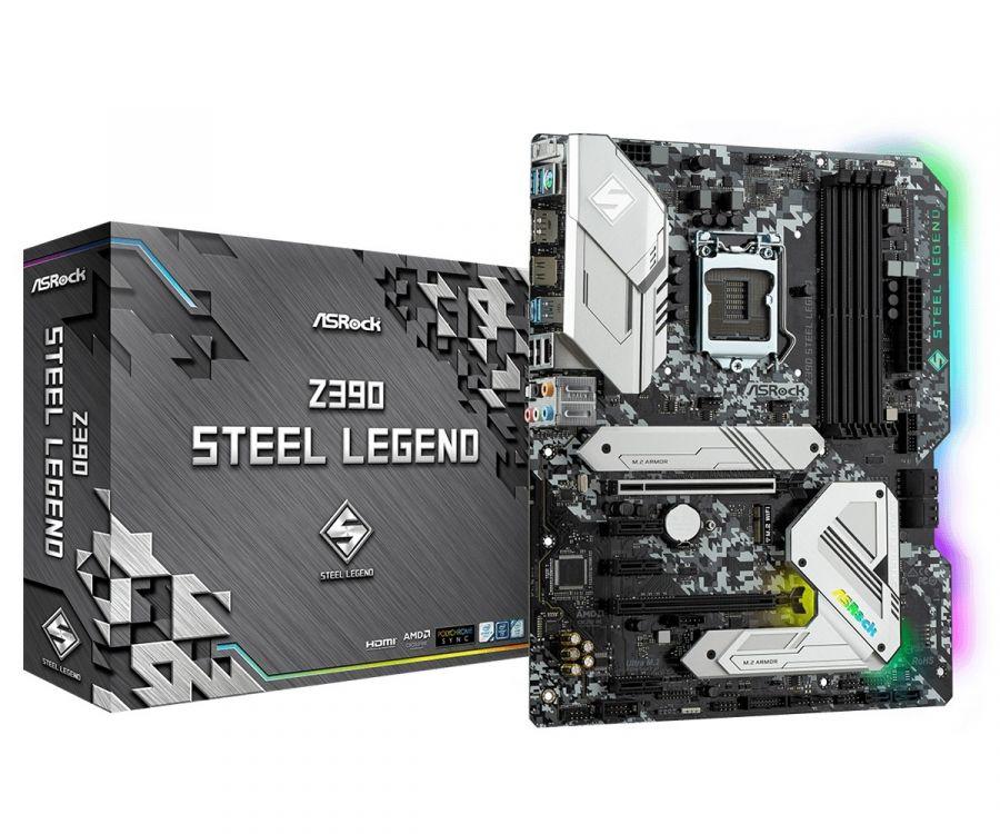 Материнская плата Z390 Steel Legend Socket 1151