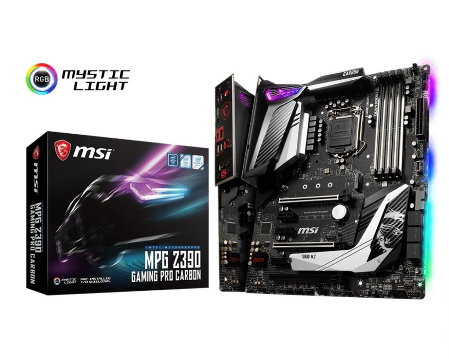Материнская плата MSI MPG Z390 Gaming Pro Carbon Socket 1151