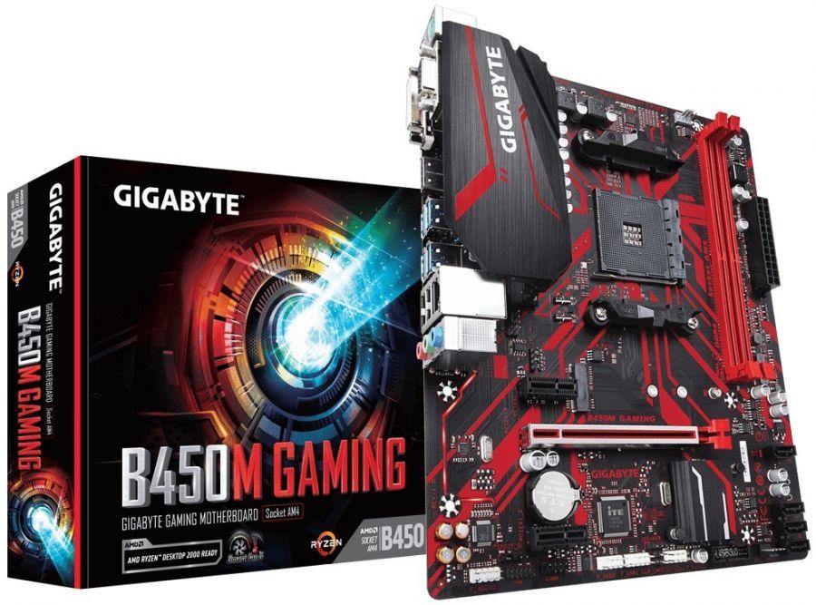 Материнская плата Gigabyte B450M Gaming Socket AM4