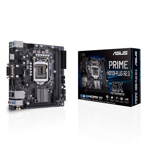 Материнская плата Asus Prime H310I-Plus R2.0 Socket 1151