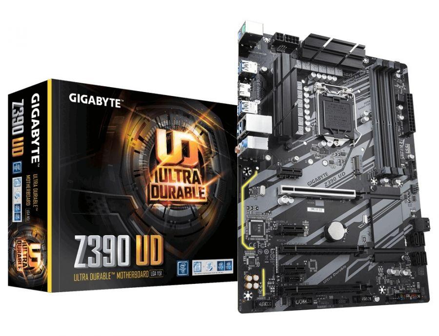 Материнская плата Gigabyte Z390 UD Socket 1151