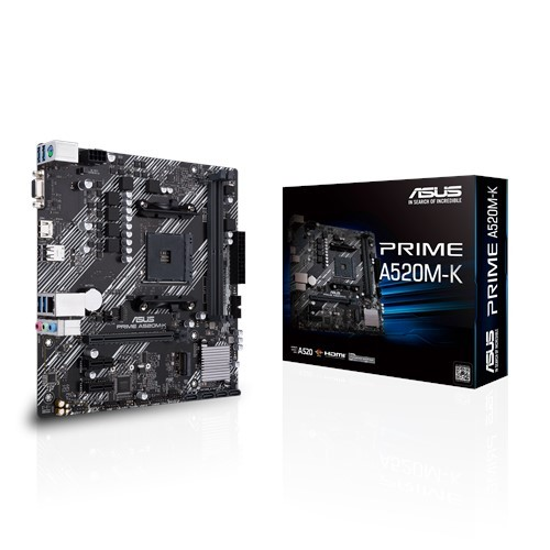 Материнская плата Asus Prime A520M-K Socket AM4