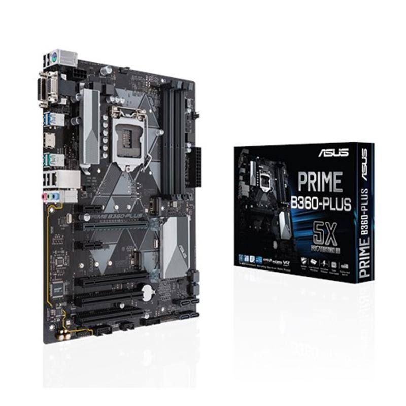 Материнская плата Asus Prime B360-Plus Socket 1151