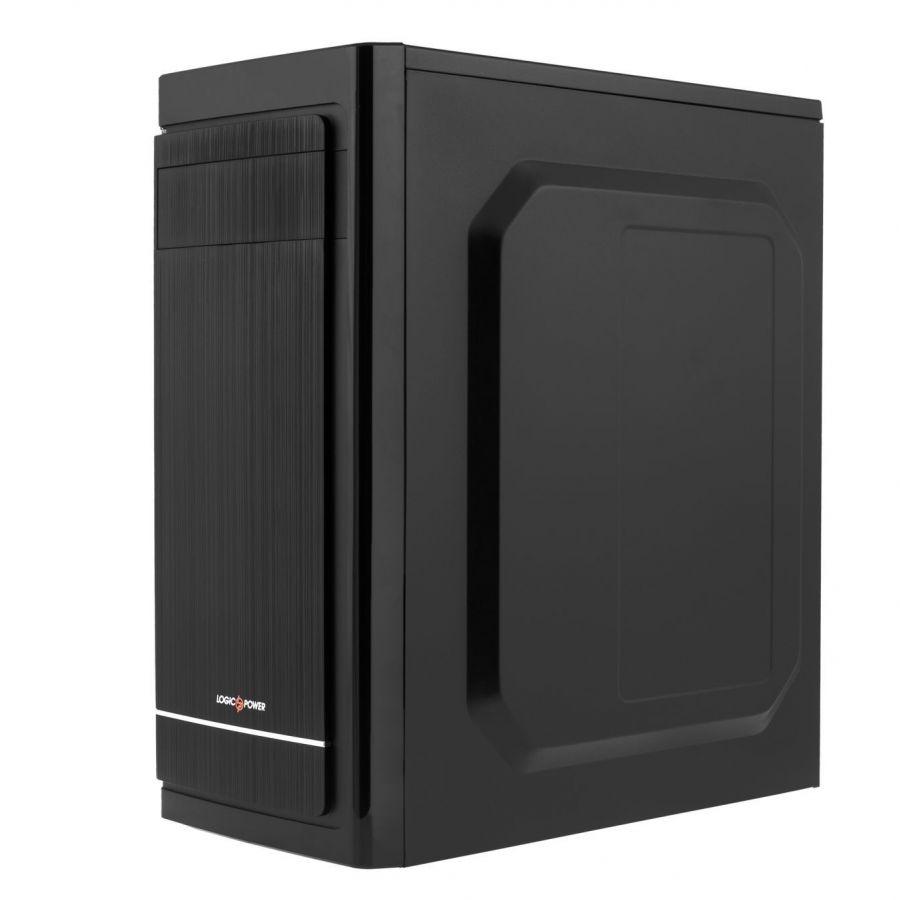 Корпус Logicpower 2006-450W 12см, 2хUSB2.0, Black