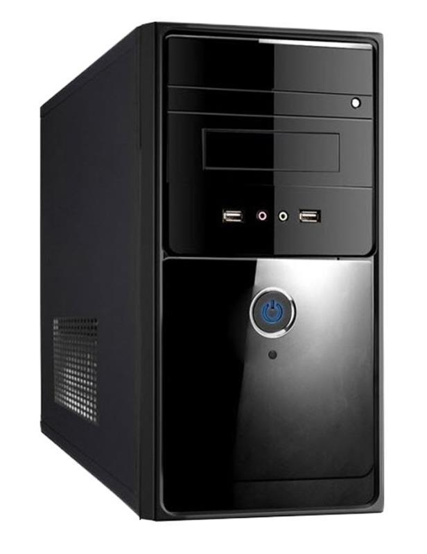 Корпус Delux MK260 Black 500W 12Fan