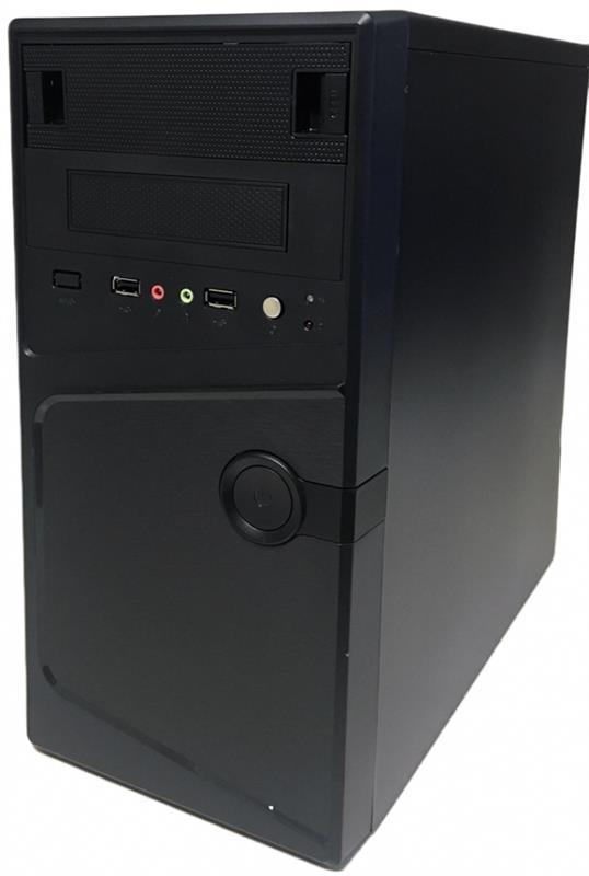 Корпус Delux MK231 Black 450W 12Fan