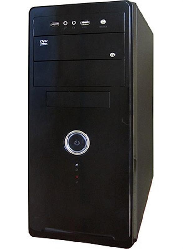 Корпус Delux MD208 Black 450W 12Fan