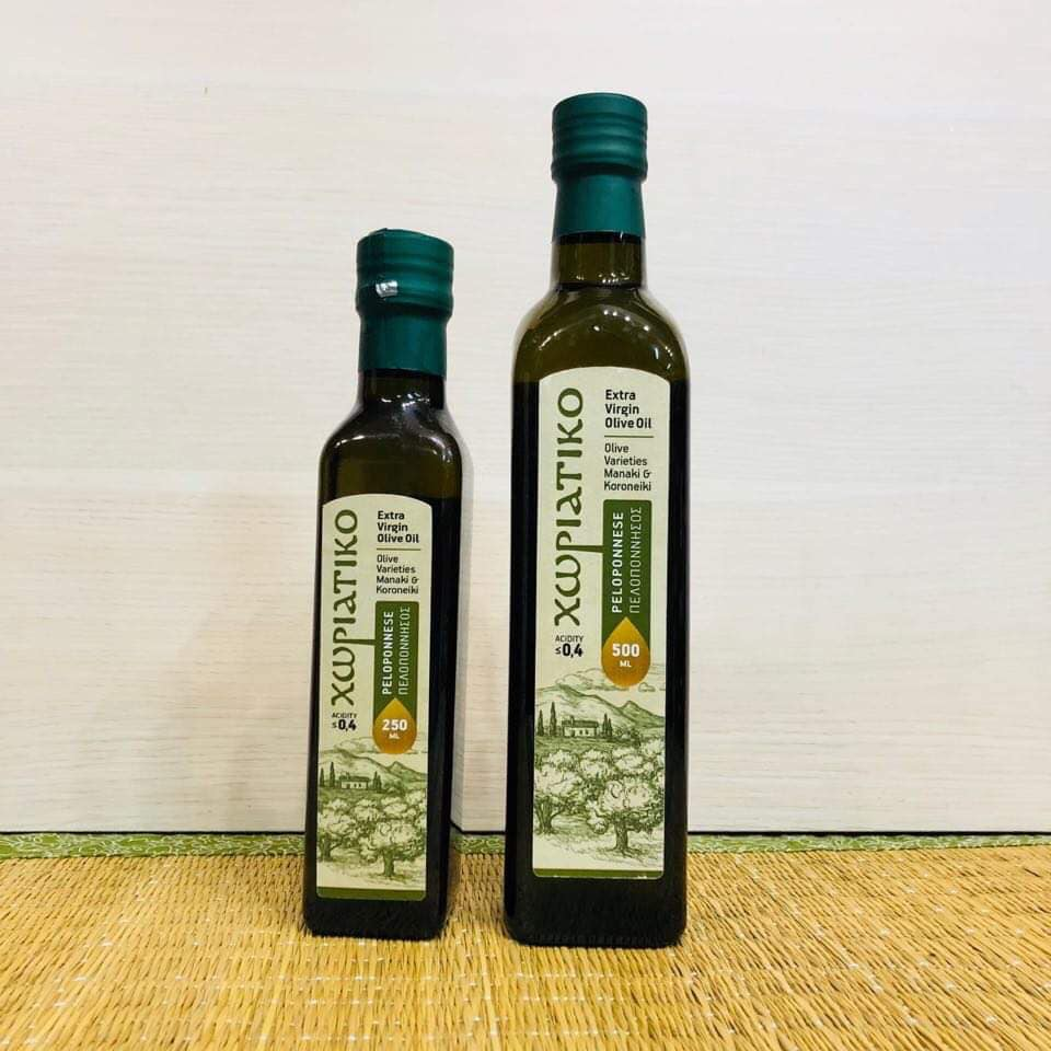 Домашнее оливковое масло Horiatiko Agrinio Extra Virgin 250 мл