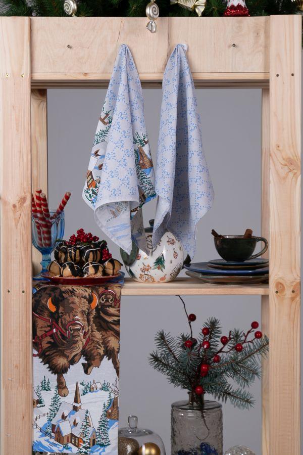 Набор полотенец кухонных Мари Санна Новый год [в ассортименте]