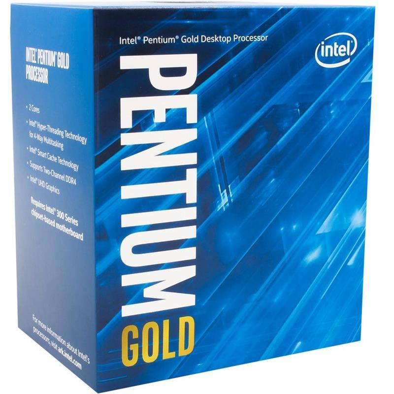 Процессор Intel Pentium Gold G6400 4.0GHz (4MB, Comet Lake, 58W, S1200) Box (BX80701G6400)
