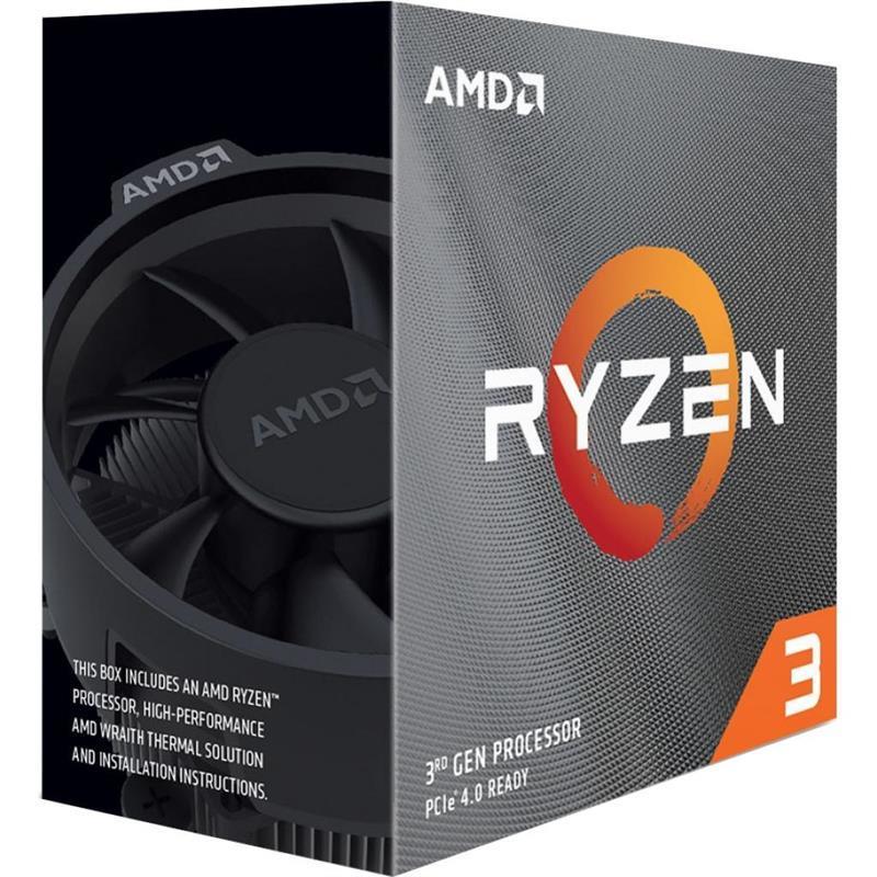 Процессор AMD Ryzen 3 3100 (3.6GHz 16MB 65W AM4) Box (100-100000284BOX)