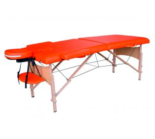 Массажный стол DFC Nirvana Relax оранжевый (Orange)