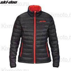 Куртка женская Ski-Doo Packable, Черная мод. 2021