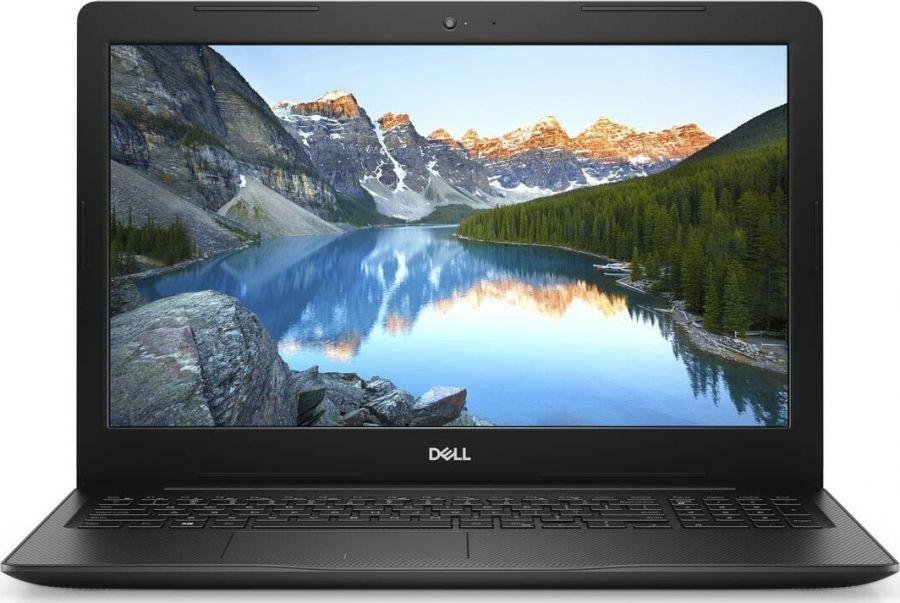 "Ноутбук Dell Inspiron 3593 (I3593F58S2NL-10BK); 15.6"" FullHD (1920x1080) TN LED глянцевый антибликовый / Intel Core i5-1035G1 (1.0 - 3.6 ГГц) / RAM 8 ГБ / SSD 256 ГБ / Intel UHD Graphics G1 / нет ОП / LAN / Wi-Fi / BT / веб-камера / Linux / 2.2 кг /"