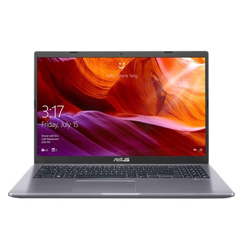 """Ноутбук Asus X509JP-BQ194 (90NB0RG2-M03480); 15.6"""" FullHD (1920x1080) IPS LED матовый / Intel Core i5-1035G1 (1.0 - 3.6 ГГц) / RAM 8 ГБ / SSD 256 ГБ / nVidia GeForce MX330, 2 ГБ / без ОП / Wi-Fi / BT / веб-камера / без ОС / 1.9 кг / серый / подсветка"""