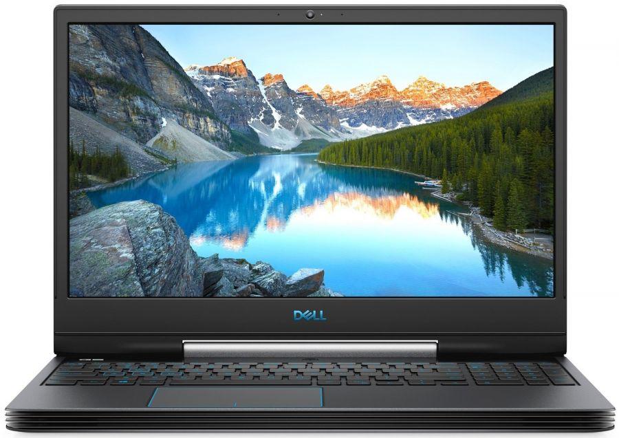 "Ноутбук Dell G5 5590 (5590G5i58S2H1G16-LBK); 15.6"" FullHD (1920x1080) IPS LED матовый / Intel Core i5-9300H (2.4 - 4.1 ГГц) / RAM 8 ГБ / HDD 1 ТБ + SSD 256 ГБ / nVidia GeForce GTX1650, 4 ГБ / нет ОП / Wi-Fi / BT / веб-камера / LAN / Linux / 2.68 кг /"