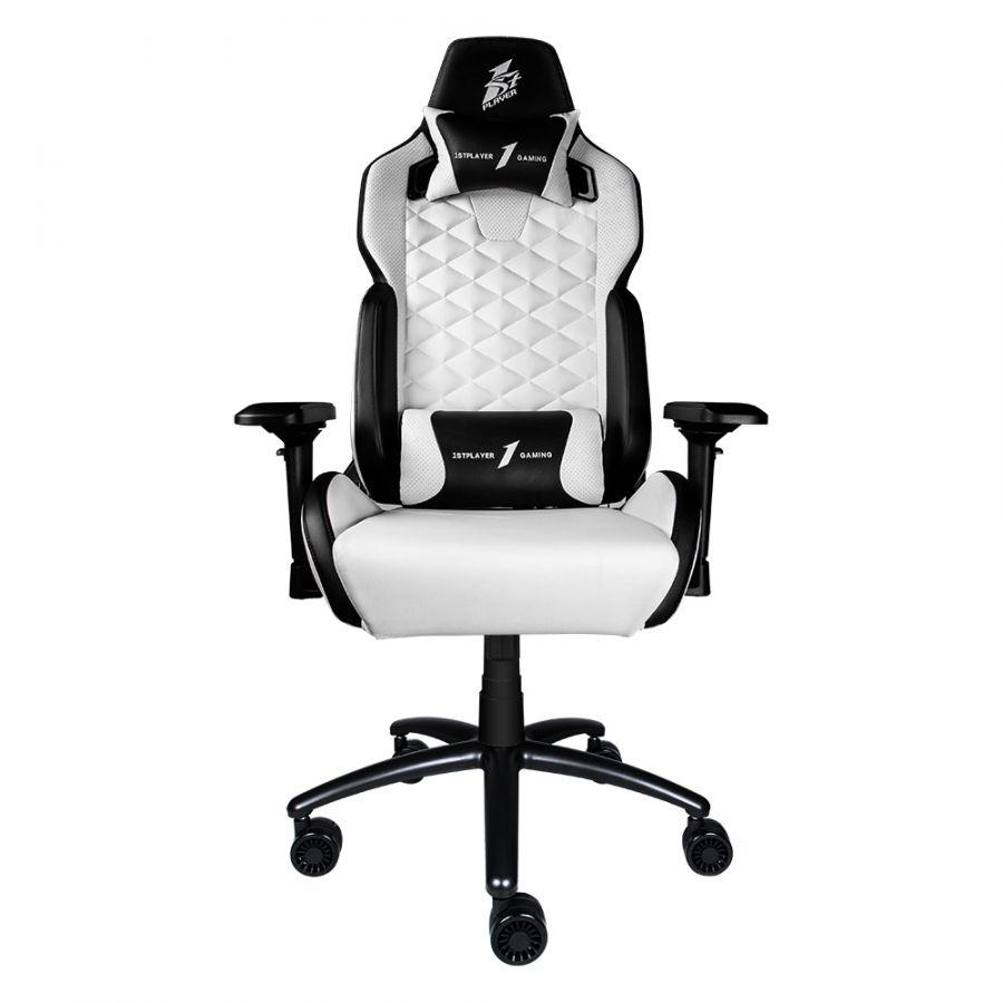 Кресло для геймеров 1stPlayer DK2 Black-White