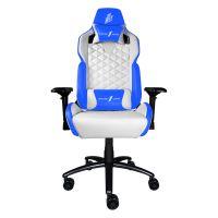 Кресло для геймеров 1stPlayer DK2 Blue-White