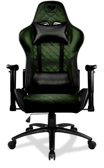 Кресло для геймеров Cougar Armor One X Dark Green