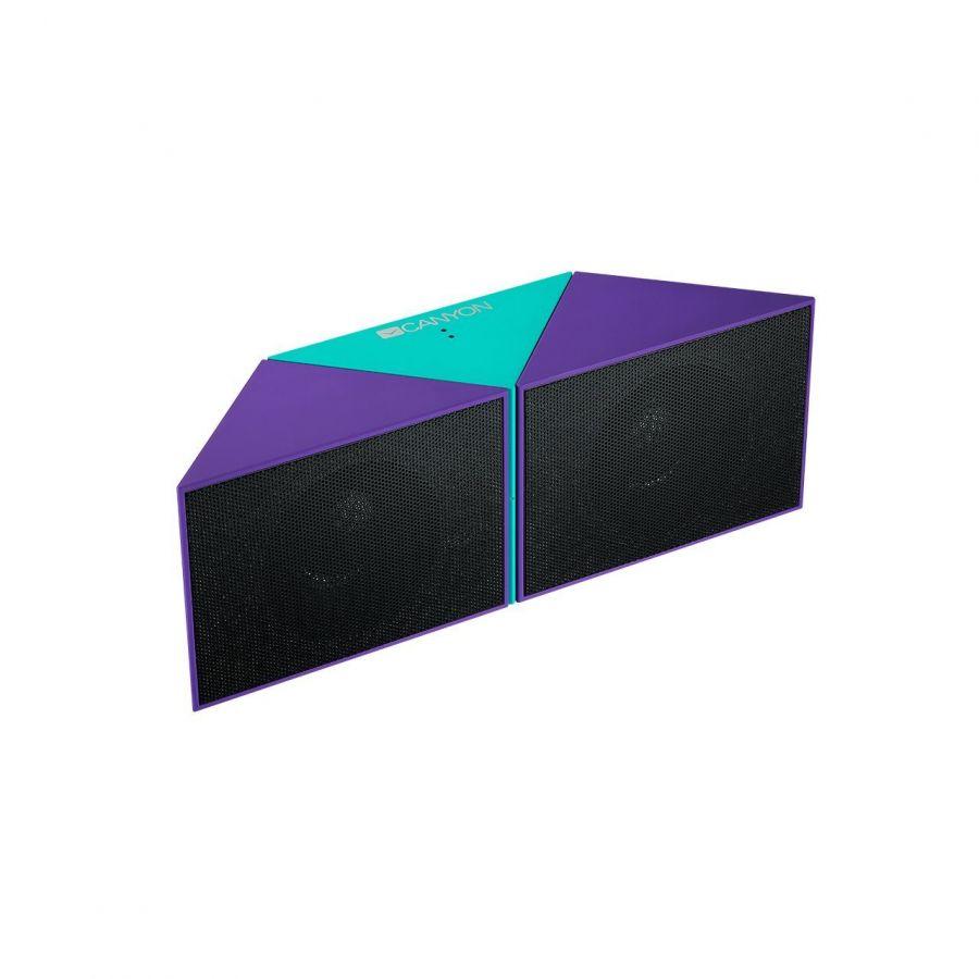 Акустическая система Canyon CNS-CBTSP4GBL Blue/Green