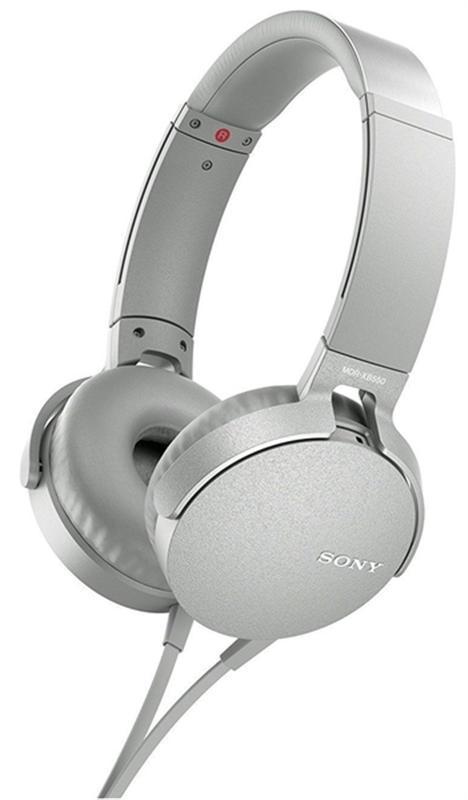 Гарнитура Sony MDR-XB550AP White (MDRXB550APW.E)