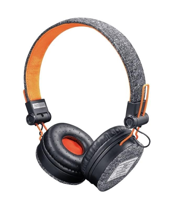 Гарнитура Trust Fyber On-Ear Black (22645)