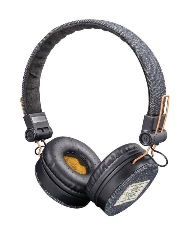 Гарнитура Trust Fyber On-Ear Dark Denim (22643)