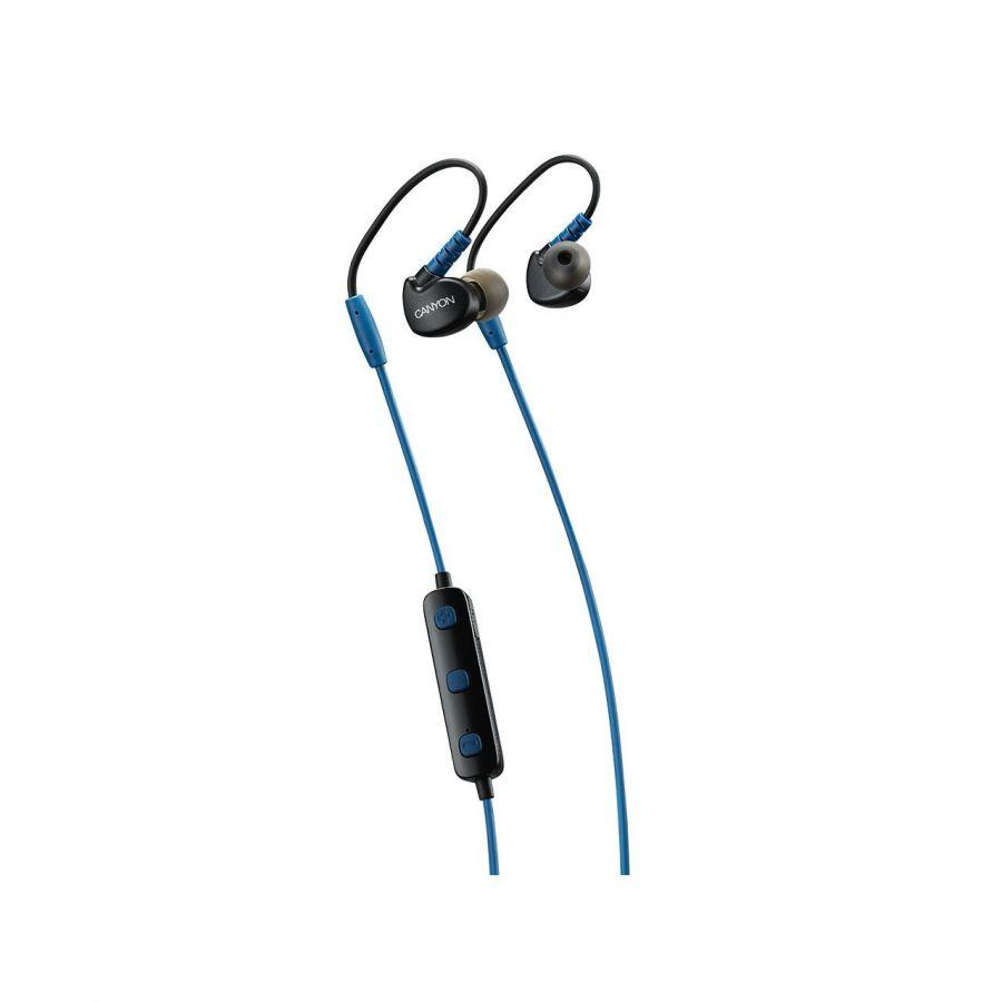 Bluetooth-гарнитура Canyon CNS-SBTHS1BL Blue