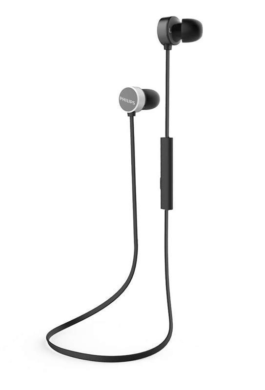 Bluetooth-гарнитура Philips TAUN102BK/00 Black