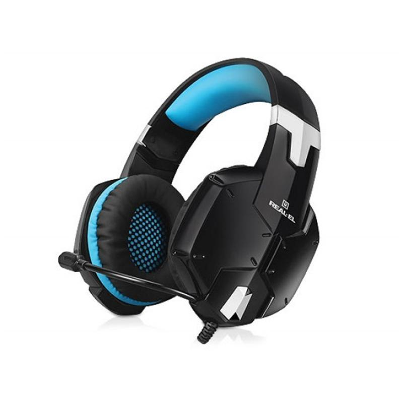 Гарнитура REAL-EL GDX-7500 Black/Blue